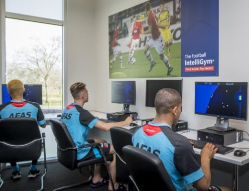 Football IntelliGym Improves Soccer Players' Cognitive Gameplay With Spaceships