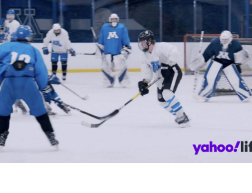 This is how hockey's youngest stars train for the pros